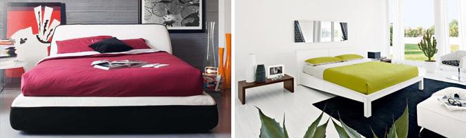Letto imbottito, letto in pelle, letto in legno, letto in ferro battuto...