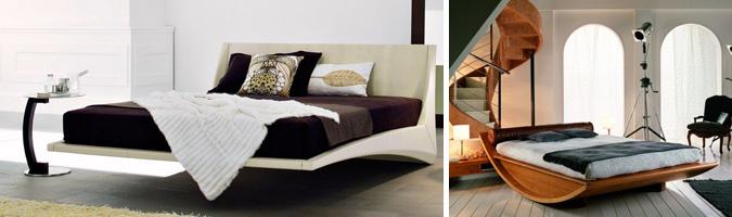 Struttura del letto e giroletto come sceglierli for Letti moderni particolari