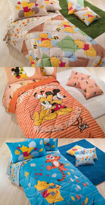 Scegliere la trapunta ideale per la camera da letto - Lenzuola letto singolo bambino ...