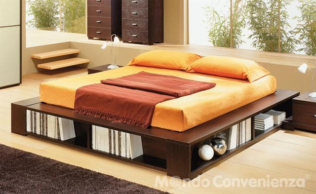 Come scegliere il letto contenitore - Letto matrimoniale contenitore mondo convenienza ...