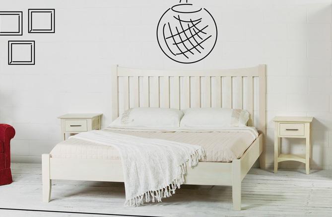 Come scegliere il letto in base al materiale for Letti in legno