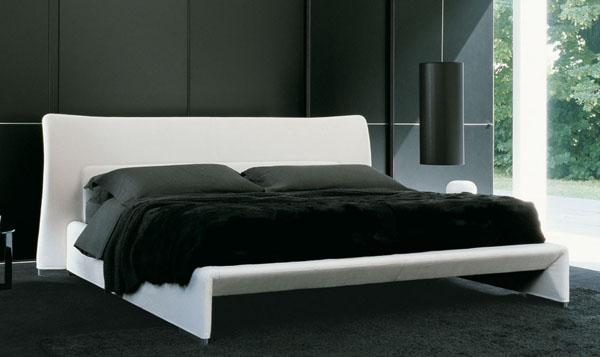 Letti modermi di design dall estetica molto particolare for Letti moderni design