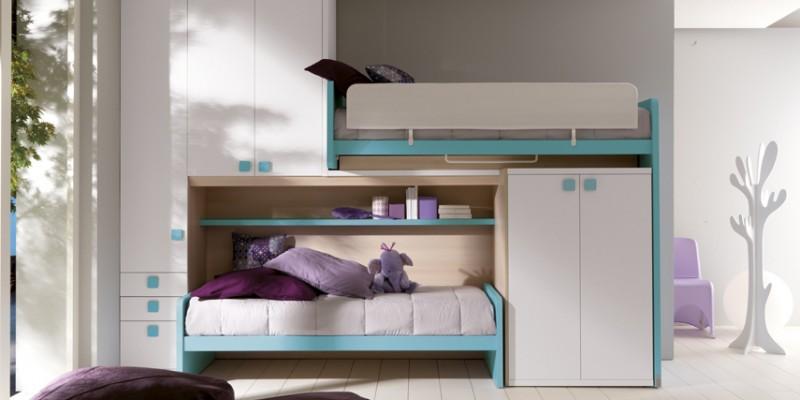 Come scegliere una struttura funzionale per la camera dei ragazzi