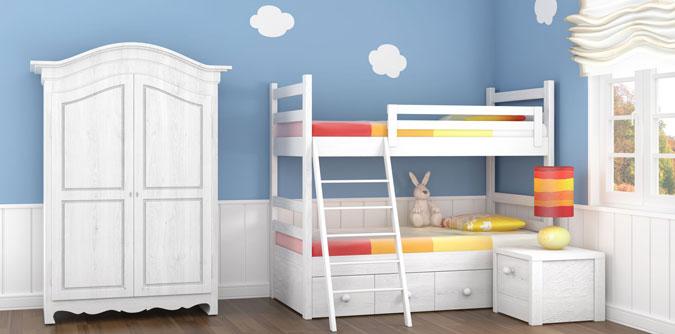 Guida alla scelta di un letto a castello per la camera dei for Letti a castello per 3 bambini