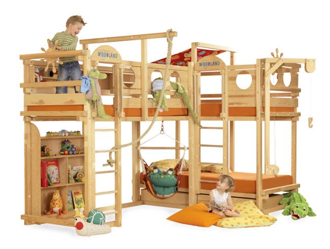 Come scegliere il letto adatto alla cameretta dei ragazzi - Camerette per bambini soluzioni salvaspazio ...