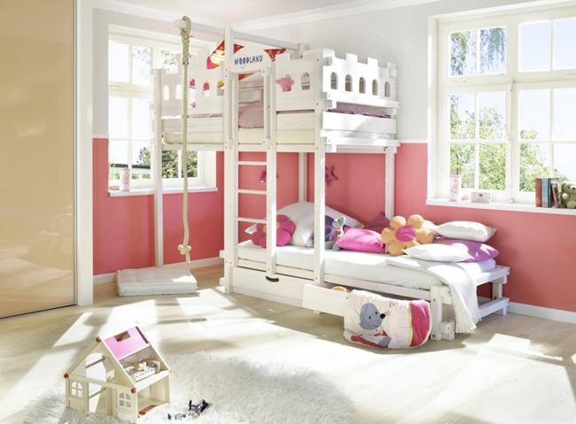 Come scegliere il letto adatto alla cameretta dei ragazzi for Piani casa 2 letti
