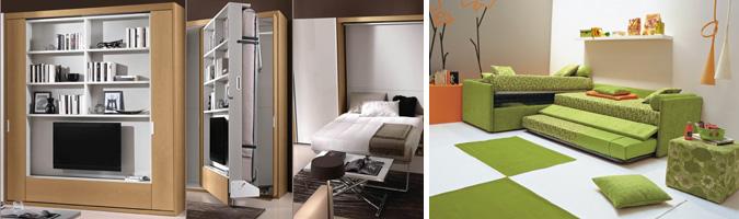 Come scegliere i letti salvaspazio - Soluzioni salvaspazio camera da letto ...
